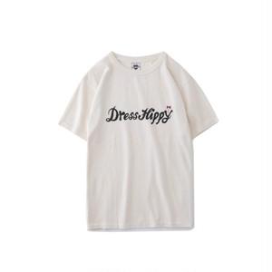 "DRESS HIPPY(ドレスヒッピー) / ""DRESS HIPPY S/S TEE""(NATURAL)"