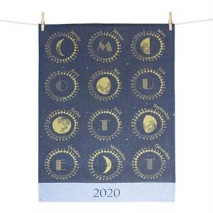 【指定お客様専用ページ】ティータオル 2020年カレンダー 月の満ち欠け Tissage Moutet