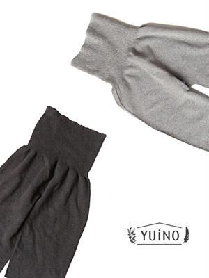 yuino オーガニックコットン腹巻きレギンスパンツ