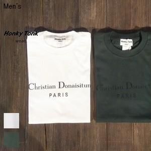 Honky Tonk weac. プリントTシャツ  Christian Donaisitun PARIS (2Color)