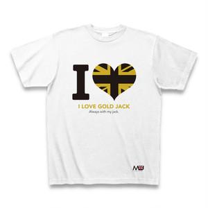 ゴールドジャックTシャツ-I LOVE-