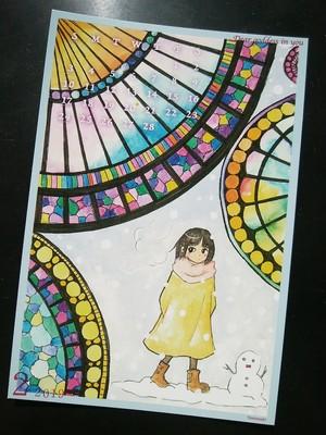 【お得なカレンダーのみ】2019☆「あなたのなかの女の子」カレンダー