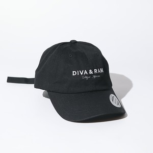 LOGO LOW CAP(BLACK)