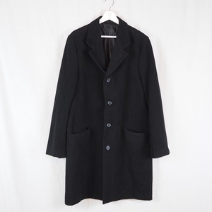 Cashmere Wool Mix Chester Coat Dead Stock