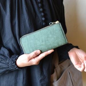 少しこぶりな長財布「ティオ・月桂樹」