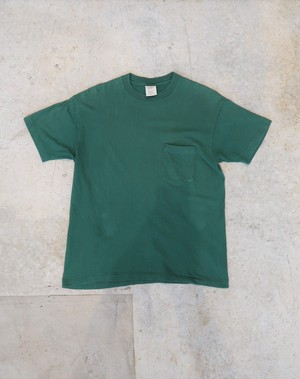 [SALE] 20%OFF 90's OLD GAP Pocket Tee Dark Green Made in USA