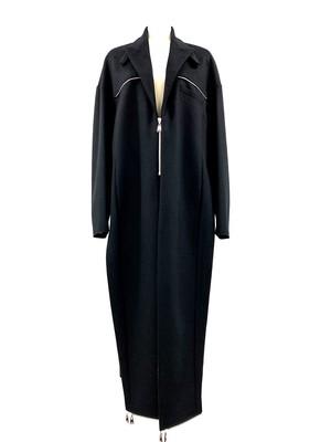 Turn Up Coat (Black)