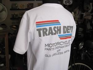 TRASH DEPT オリジナルTシャツ タイプC ホワイト