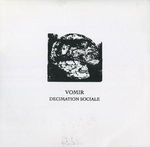 """Vomir – Decimation Sociale(10""""LATHE-CUT)"""