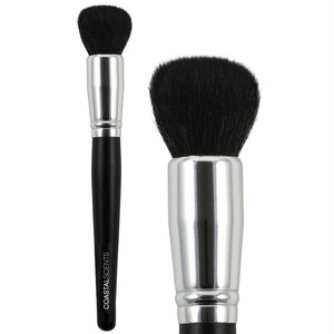 クラシックバッファ スモールナチュラルヘア 化粧ブラシ (サイズ小/羊・ゴートヘア)ファンデ・チーク・ブロンズブレンダー化粧ブラシ CS-BR-C-N28