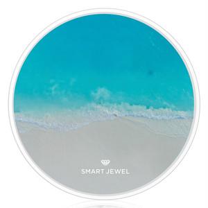Smart Jewel-Wireless Charger-Beach-Heavenly