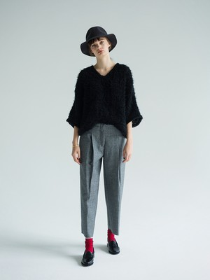 mohair pull-over