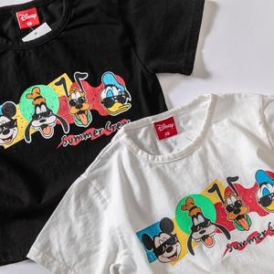 ジュニア予約(一部即納) 2800円+税 ディズニーサングラスキャラクターTシャツ
