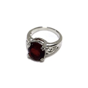 Jewelry ring red