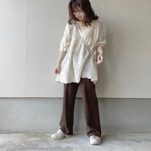 natural design blouse[7/22n-8]