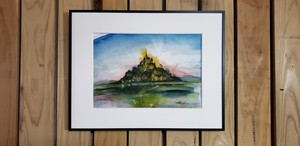 Mont Saint-Michel and its Bay(原画)