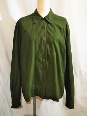 70's Swedish army ladies shirt [2068]