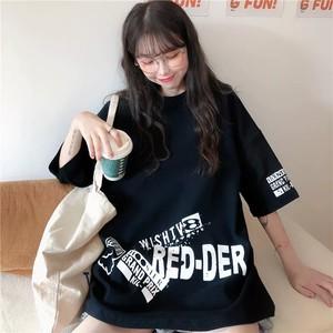 【トップス】カジュアルプリントアルファベットファッションTシャツ28358723