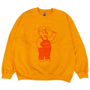 "SIXSENSE ""STAY YOUNG"" Sweat -gold-"