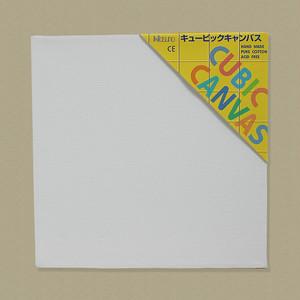 キュービック・キャンバス白(縦400㎜×横400㎜×厚38㎜)
