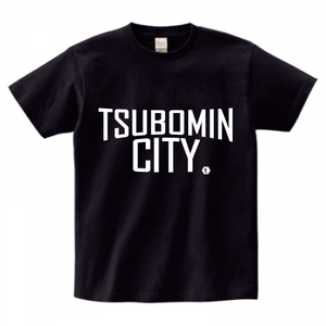 TSUBOMIN / TSUBOMIN CITY T-SHIRT BLACK