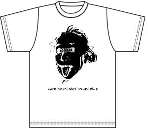 NO MARK 「Einstein Tshirt」限定受注生産