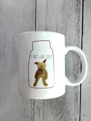 お取り寄せ商品(ご注文後1〜2週間ほどかかります)FAIRY AND TEDDY マグカップ