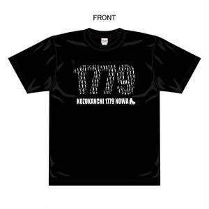 【小塚崇彦オフィシャルグッズ】Tシャツ 生地色ブラック