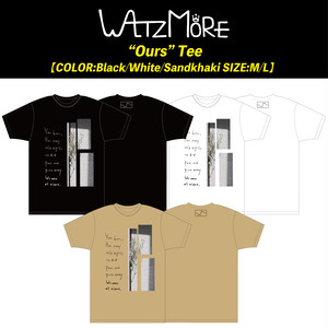 "WALTZMORE ""Ours""Tee-online limited-"
