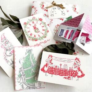 【残りわずか】クリスマス あわてんぼうのサンタ入りカードセット★プレゼントにも
