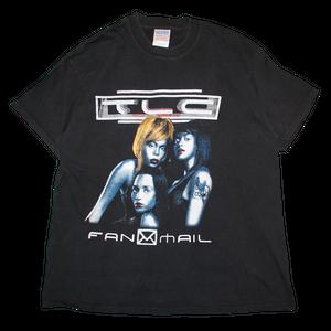 """TLC / Fan Mail World Tour 2000"" Vintage Rap Tee Used"