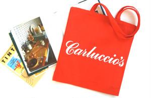 カルッチョス Carluccio's (生産終了) キャンバス・バック Red