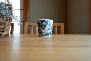 砥部焼/「小さな森」/タンブラーカップ/森陶房kaori
