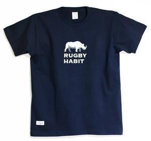 ソフトフィット ロゴTシャツ / ネイビー
