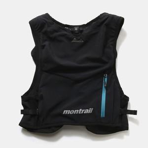 Columbia Montrail コロンビア モントレイル Ruimpulse Vest 7.0 ルインパルスベスト XU0123 010(ブラック×モスグリーン) 【ザック】【ランニングパック】【上田瑠偉監修】