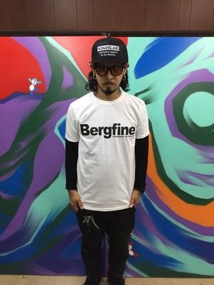 """Bergfine"" Official Tee (White)"