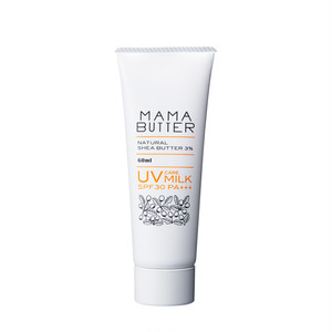 ママバター UVケアミルク - 無香料 -
