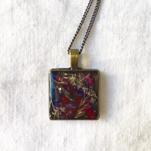 【meagratia】flower necklace