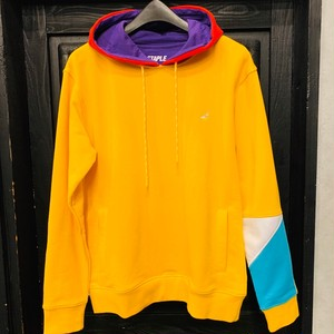 STAPLE : WORLD BLOCK HOODIE /  YELLOW