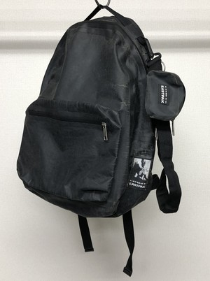 AW2009 DRKSHDW X EASTPAK DISTRESSED BACKPACK
