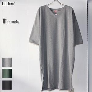 maomade ワイドカットワンピース Wide Cut&Sewn Onepiece  741202 (GRAY)