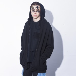 <受注アイテム> Big Zip Parka / Black