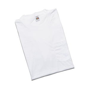 Deadstock★ 90's FRUIT OF THE LOOM 3XL ビッグサイズ ポケTEE(WHITE)