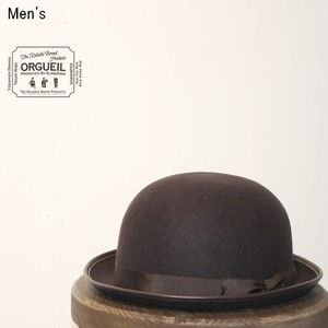 ORGUEIL ボーラーハット Bowler Hat  R-7027 (BROWN)
