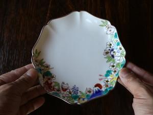縁起物(全部入り) 長皿/モッコ皿