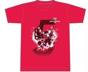 スポーツ・オブ・ハート2017公式Tシャツ