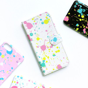 iPhone 手帳型スマホケース【Scatter】 iPhone5/5s/SE/6/6s/7/8/X/XS