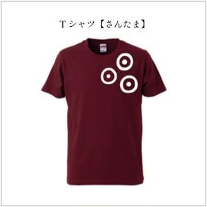 Tシャツ【さんたま】: Burgundy