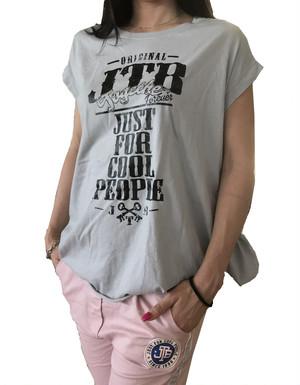 【JTB】 TASCHE Tシャツ【アイスグレー】【新作】イタリアンウェア【送料無料】《M&W》