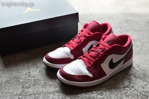NIKE AIRJORDAN 1 LOW NOBLE RED